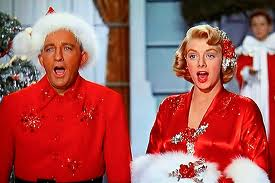Bing doesn't look happy.  Rosemary Clooney is George Clooney's aunt.