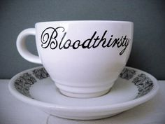 bloodthirsty tea